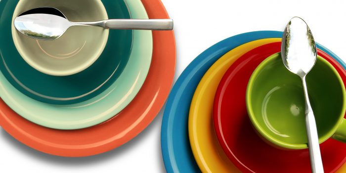 Plate Cup Colorful Cover 46199