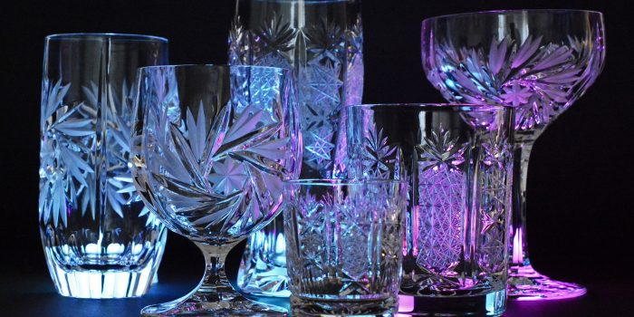 Crystal Glasses Crystal Glass Illuminated 163002