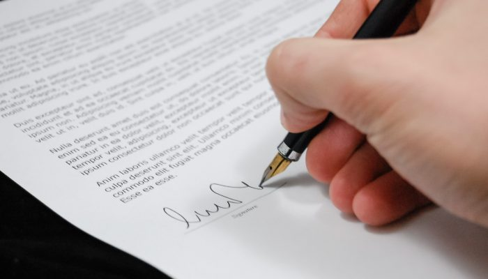 Document Agreement Documents Sign 48148